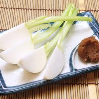 生野菜 - 味噌かぶ