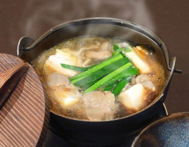 牛ホル豆腐鍋