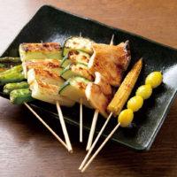 野菜串6本盛り